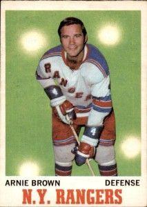 1970-71Arnie Brown: New York Rangers Defensive Great