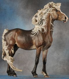 Carlin, a Stormwatch resin sculpted by Sarah Minkiewicz-Breunig & painted by Stephanie Michaud.