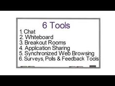 Virtual Classroom Tools: Basics - YouTube