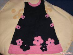 Crochet Girls Dress Pattern, Baby Cardigan Knitting Pattern, Crochet Bikini Pattern, Knit Baby Dress, Knitted Baby Clothes, Baby Knitting Patterns, Easy Knit Baby Blanket, Knitted Baby Blankets, Easy Knitting