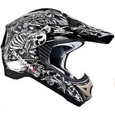 DUCHINNI D200 PLAIN MOTOCROSS OFF ROAD DIRT BIKE MX MOTOX BIKE ACU CRASH HELMET