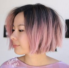 Pink ombre by Cherin Choi