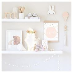 If you appreciate amazing products, styling and photography then do yourself a favour and check out Tarina's page from Gold Nursery Decor, Baby Room Decor, Nursery Room, Girl Nursery, Baby Bedroom, Girls Bedroom, Deco Kids, Diy Zimmer, Kids Room Design