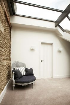 Make a hallway bright and airy. Simply add roof windows.