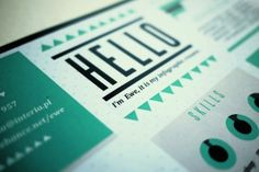How To Break The Mold and Reinvent Your Resume. -- some really rad ideas here.