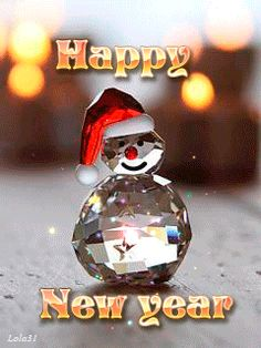 Happy New year from iced out Frosty gifs gif cool images new years new year gifs