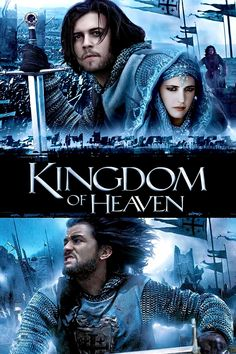 Kingdom of Heaven movie poster - #poster, #bestposter, #fullhd, #fullmovie, #hdvix, #movie720pAfter his wife dies, a blacksmith named Balian is thrust into royalty, political intrigue and bloody holy wars during the Crusades.