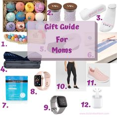 Gift Guide For Moms #holidaygiftguide #giftguideformoms #giftsformoms #giftguideforparents #relaxationgifts #giftsforher #perfectgiftformom Unique Gifts For Boys, Cool Gifts For Women, Gifts For Mom, Fun Gifts, Mother Gifts, Mothers, Happy Mom, Holiday Gift Guide, All Things Christmas
