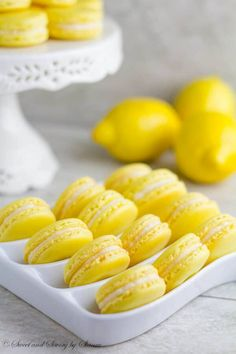 My easy to follow step-by-step directions will guide you to these pretty lemon macarons with zesty lemon buttercream. A short video is included!