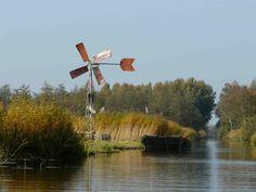 Water mill in 'de Weerribben '