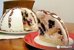 Pancho torta Ketogenic Recipes, Keto Recipes, Torte Cake, Cakes And More, Keto Dinner, Oreo, Food And Drink, Ice Cream, Sweets
