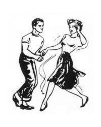 girlinthejitterbugdress.com likes this sock hop looking lindy clip art. Want to read about 1940s swing dance and more Check out my link!