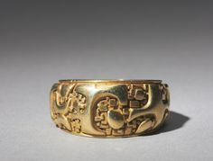 Paul Miller Jewelry   Fragment' gold ring by John Paul Miller, 1970   Jewelry