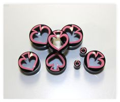 Real gaugeNatural horn heart  hand by ANELAJADE on Etsy, $12.99