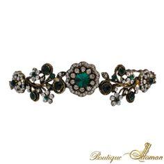 #unique SULTANA EMERALD HEADBAND  #jewelry #ottoman