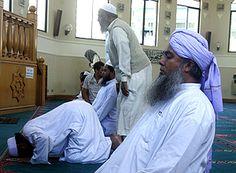 Musulmanes de Chile en la Mezquita As-Salam, Nuñoa, Santiago de Chile