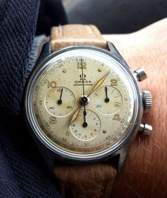Vintage OMEGA Calibre 321 French Market Chronograph In Stainless Steel - http://omegaforums.net