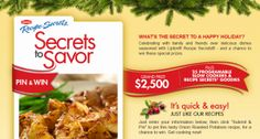 Lipton Secrets to Savor Pin & Win Sweepstakes – Win $2,500!