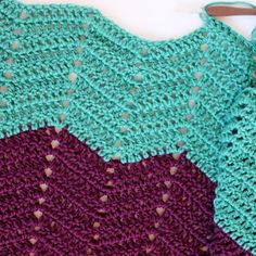 Learn this Classic Ripple Crochet Pattern with a Free Picture Tutorial. thanks so for tute xox