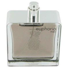 Euphoria by Calvin Klein Eau De Toilette Spray (Tester) 3.4 oz (Men)