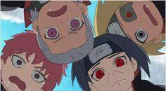 Hidan, Sasori, Itachi and Deidara