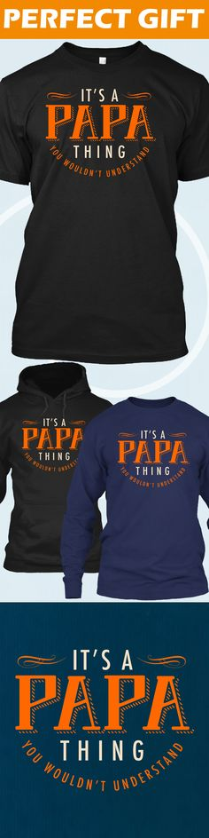 Papa Thing - Limited edition. Order 2 or more for friends/family & save on shipping! Makes a great gift!