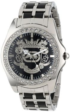 Men's Wrist Watches - Marc Ecko Mens E95016G7 Black Dial Bracelet Watch *** More info could be found at the image url.