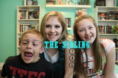 The Sibling Tag!! Because we are so cool...