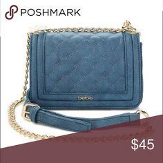 💕💅🏻Bebe fashion purse! 💅🏻💕😍 💕💅🏻Bebe fashion purse! 💅🏻💕😍                 8'' W x 5.5'' H x 2.5'' D 26.5'' max. shoulder drop Man-made Magnetic flap closure Interior: one zip and one slip pocket Adjustable crossbody strap bebe Bags Totes