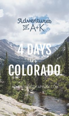 Heading to Colorado? Check out our 4 days in Colorado itinerary which includes where to eat, where to hike, where to grab coffee, and more! Winter Park Colorado, Telluride Colorado, Breckenridge Colorado, Estes Park Colorado, Boulder Colorado, Denver Colorado Vacation, Denver Travel, Road Trip To Colorado, Travel Usa