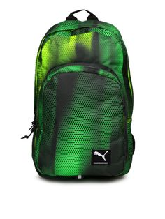 56de9ab6d892f Buy Puma Unisex Green   Black Academy Printed Backpack - - Accessories for  Unisex from Puma