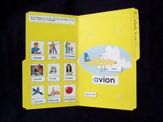 """Photo de la chemise j entends le son """"a"""" French Teacher, Teaching French, Commission Scolaire, Grade 1 Reading, Ontario Curriculum, File Folder Games, French Resources, Behaviour Management, French Immersion"""