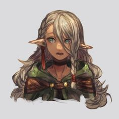 Female Character Concept, Fantasy Character Design, Character Creation, Character Design Inspiration, Character Art, Elf Characters, Fantasy Characters, Dnd Halfling, Weiblicher Elf