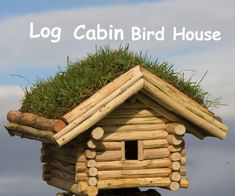 The idea to build this log cabin bird house came after storm Ophelia passed over Ireland on the 16th October 2017 causing a lot of damage to property and also...