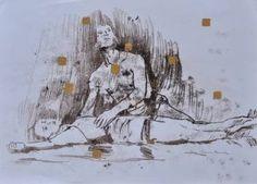 "Saatchi Art Artist Joanna Burda; Drawing, ""Ballet"" #art"