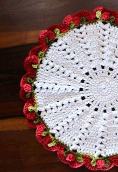 Crochet Flower Patterns, Crochet Stitches Patterns, Thread Crochet, Crochet Motif, Crochet Doilies, Crochet Flowers, Crochet Baby, Acrylic Painting Inspiration, Crochet Market Bag