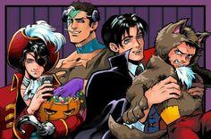 Batboys in halloween