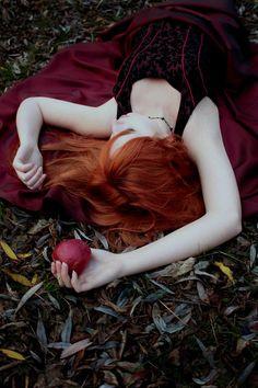 red hair pale skin