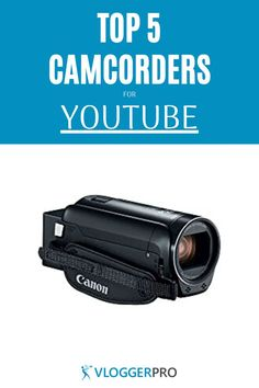 These are the best camcorders for YouTube and vlogging. These video cameras are affordable and are made to record videos for a long time. They'll be useful for most YouTube channels on a budget. Best Vlogging Camera, Best Camera, Famous Youtubers, Camera Reviews, Camcorder, Good Things, Videos, Cameras, Otaku