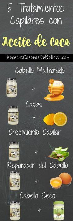 Tratamientos Capilares con Aceite de Coco