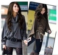 Fashion Casual Batwing Loose Top Blouse Women Shirts
