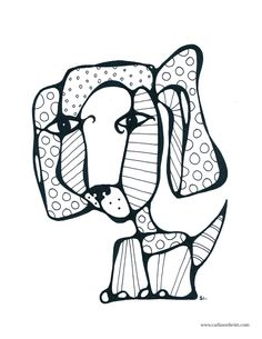 Please feel free to download this puppy coloring page for you or your kids... and help me spread the word! If you know someone who might like it, please send them a link! Thanks!