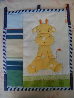 tapiz jirafa Deco, Felt Giraffe, The Creation, Manualidades, Decor, Deko, Decorating, Decoration