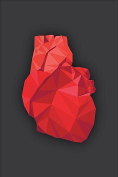 polygon heart - Google Search