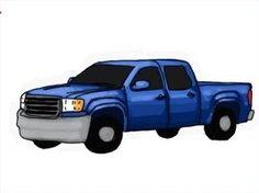 Design a 3D Truck