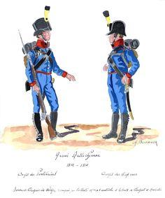 Austria; Pontoniers Corps & Sapper Corps 1812-14 by H.Boisselier.