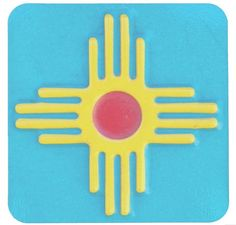 Get our Zia Sun papers coasters from our Zazzle store for your next gathering or event.