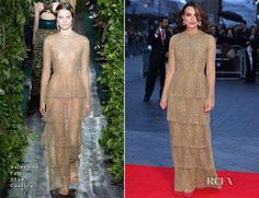 Keira Knightley In Valentino Couture - 'The Imitation Game' Opening Night Gala Screening