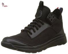 pretty nice dd56a 2ac89 Palladium Desvilles, Sneakers Basses Mixte Adulte, Noir (Black Bwr), 42