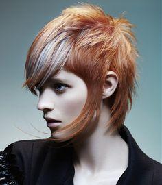 Rush Short Red Hairstyles